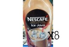 Nescafe Ice Java 470 ml x 8 bottles CAPPUCCINO New Fresh Sealed