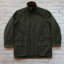 Vintage Polo Ralph Lauren Wax Field Jacket Size M Plaid Lining