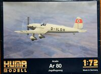 Huma 1/72 Arado Ar 80 unmade complete kit sealed