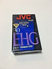 JVC High Energy EHG Compact VHS Camcorder Tape High Energy New Sealed TC 30 new
