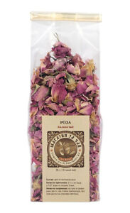 Organic Rose Petals Infusion from famous Bulgarian Rose Valley - 30 gr