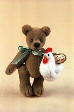 "World of Miniature Bears 2.5""/1.25"" Plush Bear Doodles #1113 Collectible Bear"