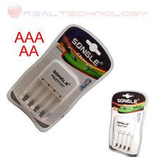 Caricabatterie da rete elettrica 220v da 1/4 batterie AAA-Ministilo 1/4 AA-Stilo