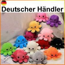 Wende Oktopus Octopus Plüschtier Kuscheltier Doppelseitiges Krake Tintenfisch DE