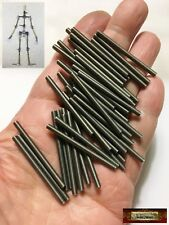 M00679x5 MOREZMORE HPA 50pcs M3 40 mm All Thread Rod Threaded M3*40 M3x40