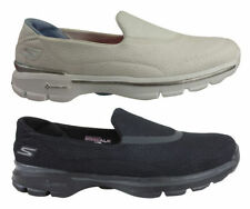 Skechers Flat (0 to 1/2 in.) Leather Slip On Shoes for Women