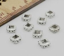 Free Ship 100Pcs Tibetan Silver Spacer Beads For Jewelry Making 2x5mm NEW