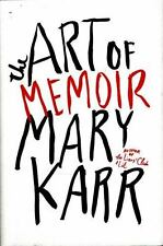 The Art of Memoir, Karr, Mary, New Book