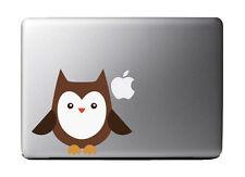 "Cartoon Owl Full Color - Vinyl Decal for 13"" Macbook"