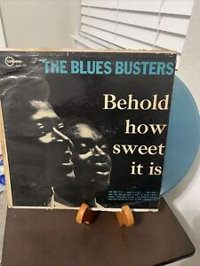BLUES BUSTERS  Behold How Sweet DYNAMIC Jamaica Northern Soul + Reggae LP G G