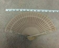 Vintage handheld bamboo fan