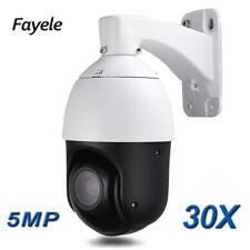 Security MINI Speed Dome 5MP IR IP PTZ Camera 30X ZOOM P2P Audio IR 100M ONVIF
