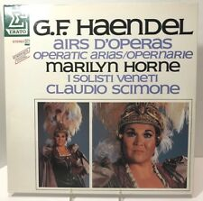 Marilyn Horne GF Handel Airs D'Operas Scimone - French LP Erato Gatefold