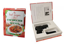 BookKase Hand Gun Hider Disguised Book Safe Compartment Size Sm The Best Recipes