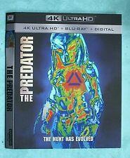 PREDATOR, PURGE, PUSH  4K Blu ray slipcover