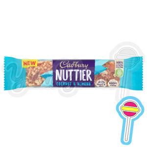 Cadbury Nuttier Coconut & Almond Chocolate Bars 15 x 40g | BB: 01/11/21