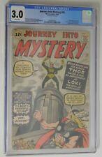 JOURNEY INTO MYSTERY #85 - CGC 3.0 - 1st Loki App. - 1962 Marvel Vintage Comic