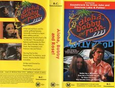 ALOHA, BOBBY AND ROSE -VHS -NEW -Never played-PAL-Original Oz sell-thru release
