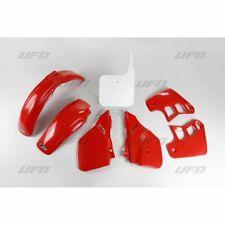 New Honda EVO CR 125 89-90 OEM 89 Colour Red White Plastic Kit Plastics