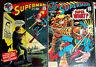 SUPERMAN #230,231 Lex Luthor! Clark Kent! 2 Vintage Bronze-Age Issues! 1970