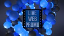 Logo Animation Video Balls Bouncing with Your Logo in Full-HD in 24 Hrs or Less