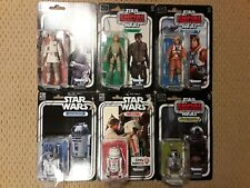 Star Wars Black Series 40th Anniversary Figures Lot of 6