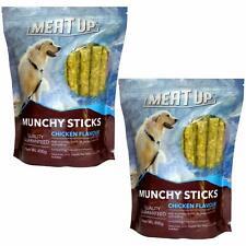 Meat Up Munchy Sticks, Chicken Flavor, Dog Treats , 400 g (Buy 1 Get 1 Free)