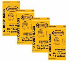12 ShopVac 90672 Genie 10 12 14 Gallon Vacuum Bag 9066200 Heavy Duty Industrial