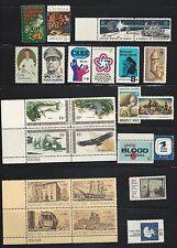 1971 U.S. Commemorative Year Set Mint NH 1396 & 1423-1445