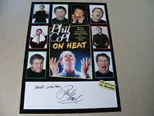PHIL COOL on Heat 2003 Signed Flyer Autograph  Comedy Stand-Up Comedian