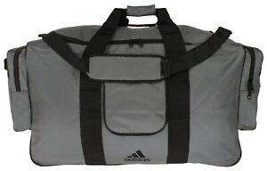 Adidas Heavy Duty Team Carry Equipment Duffel Bag, Grey, X-Large