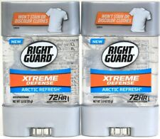 2 Right Guard 3 Oz Xtreme Defense Arctic Refresh 72 Hr Antiperspirant Deodorant