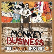 """MONKEY BUSINESS:THE 7"""" VINYL BOX SET 10 X 7-INCH 10 VINYL LP SINGLE NEU"""