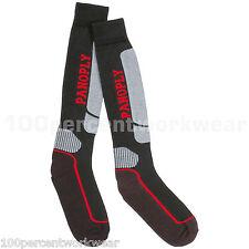 Panoply PRATO Mens UK 9-11 Work Socks Anti Static Bacterial Cotton Rich Black