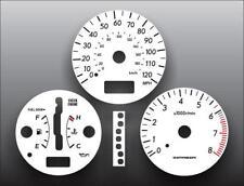 2004-2007 Subaru Impreza 120 MPH Auto Dash Instrument Cluster White Face Gauges