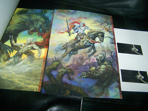 DRAGON CON Program SIGNED BROM Centipede Press ELRIC MIchael Moorcock Jablonski