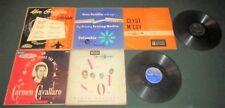 "Lot of 5 Vintage 33-1/3 RPM 10"" Records -Carmen Cavallaro, Ken Griffin + 2 78's"