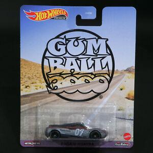 Hot Wheels - Gumball 3000 - Pagani Huayra - Premium - Brand New