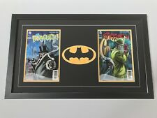 Changeable 2 Comic Batman Frame. Great Way To Display Books (Books Not Included)