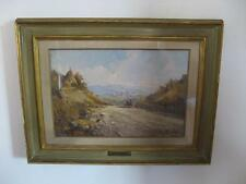 Dipinto GIULIO DA VICCHIO Paesaggio Olio su tela 1949