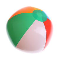 Inflatable25cm Balloon WaterGame Beach Sport Ball Kid Outdoor Toy Party Suppl_AU