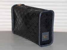 GUCCI Toiletry Bag, Pouch, Cosmetic Bag, Travel, Gym, Plastic, Gray, NEW