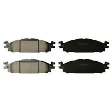 Premium Ceramic Disc Brake Pad FRONT Set Plus Shims Fit Ford Lincoln KFE1508-104