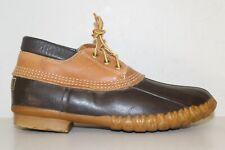 LL BEAN Bean Boots Women's Gumshoes Sz 9 Waterproof Duck Boots USA Made