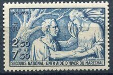 FRANCE TIMBRE  N° 498 ** SECOURS NATIONAL ENTRAIDE D HIVER DU MARECHAL