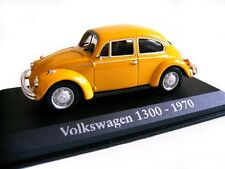 1/43 - IXO -BOITE VITRINE - VW COCCINELLE / BEETLE 1300 ORANGE 1970