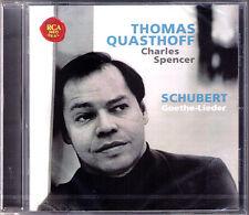 Thomas QUASTHOFF SCHUBERT Goethe-Lieder Gesänge des Harfners Prometheus Erlkönig