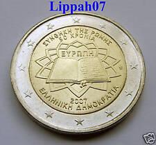 Griekenland 2 euro Verdrag van Rome 2007 UNC