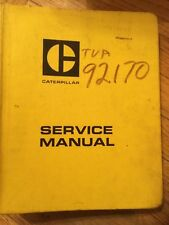 Caterpillar 14g And 16g Road Grader Service Manual