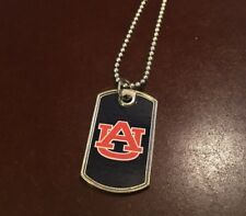 New NCAA Auburn Tigers (Unisex) Dog Tag Necklace (10 Available)